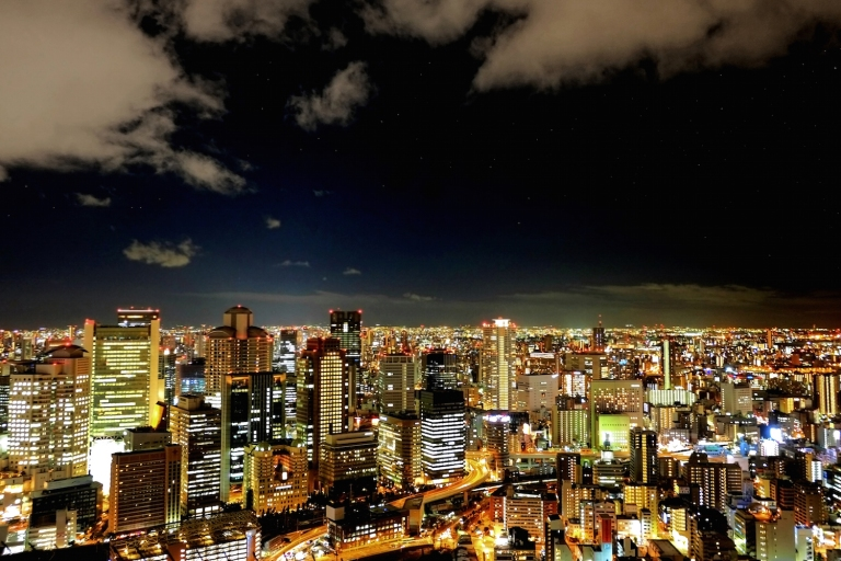 Osaka Cityscape by Dust Gaudan